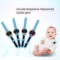 L07 Bluetooth уход носимых измерения здоровья ребенка термометр Для детей умный электронный термометр Температура монитор