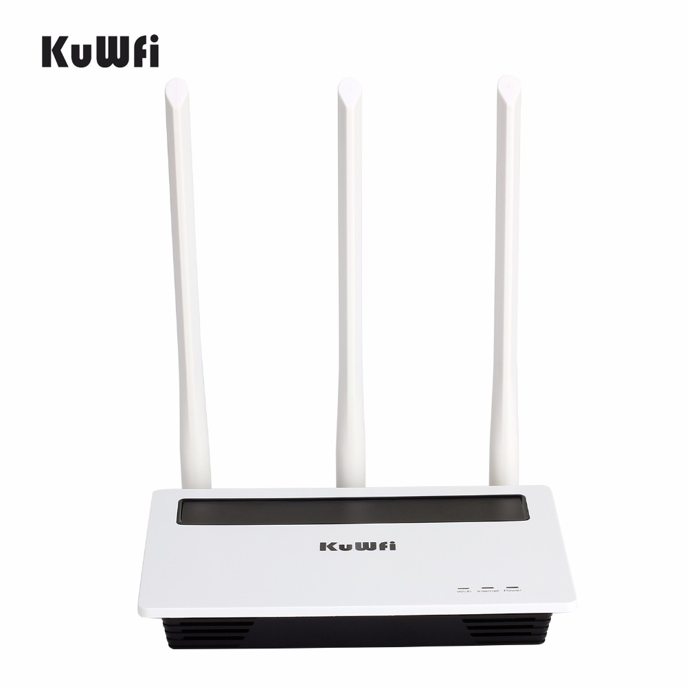 Image 2 - 2.4G 300Mbps High Power Wireless Router Strong Wifi Signal Home Networking AP with 3*6dbi Antenna Wifi Repeater-in Wireless Routers from Computer & Office