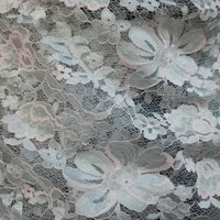 New Soft Elegant Flower Embroidere Lace Fabric Multicolor Mixed Luxury Dress Fabric Textured Fabric 130cm 5yard