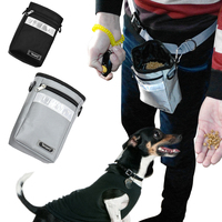 Reflective Dog Treat Bag Pouch For Training Dogs Snake Bags With Adjustable Waist Belt Pet Treat