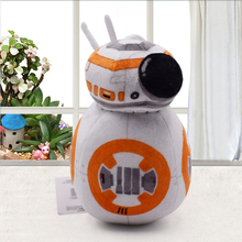 Star War BB-8 Movies The Force Awakens bb8 Plush 17cm  Toys Robot BB-8 Droid Robot Soft Stuffed Dolls For Kids Gifts new 13cm star wars the last jedi bb8 bb 8 night light eyecare usb charging droid robot model action figure toy christmas gift
