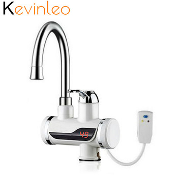 Water Heater Instant 3000W Tankless Electric Hot Water Heater Faucet Kitchen Instantaneous Heating Tap Water Heater for EU US