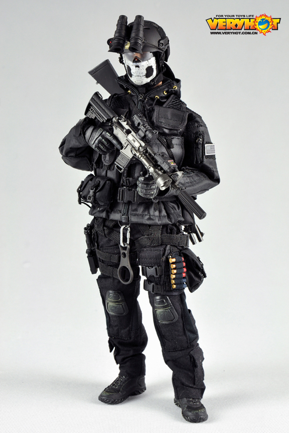 American Seal Special Forces VH night group 1/6 Soldier Action Figure CQB3.O Military Model Set Toy henry brook special forces
