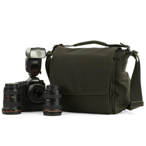 Image 1 - Fast shipping Genuine Lowepro Pro Messenger 180AW DSLR Camera Photo Sling Shoulder Bag with all Weather Cover