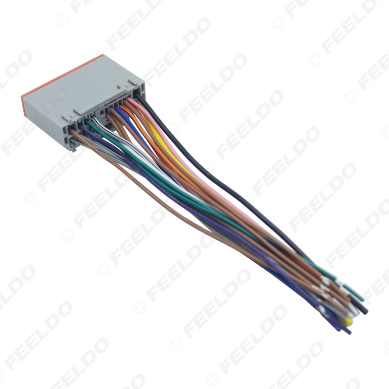 Compatible with Ford Focus 2005-2007 Factory Radio OEM Original Stereo Wire Harness Plug