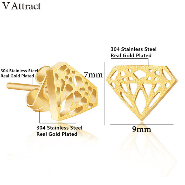 V Attract Valentine s Day Gift 2018 Stainless Steel Promise Earring Women And Men Jewelry Punk.jpg 640x640 - V Attract Valentine's Day Gift 2018 Stainless Steel Promise Earring Women And Men Jewelry Punk Vintage Boucle D'oreille Pendante
