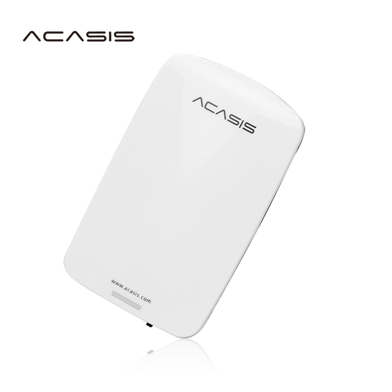 Free shipping On Sale 2.5'' ACASIS Original USB2.0 HDD 1TB Mobile Hard Disk External Hard Drive 1000GB Power switch Good price original svs13 series hdd hard drive cable connector v120 hdd fpc h 1p 1123x08 2111 fpc 270 test good free shipping
