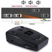 Best STR535 Anti radar car detector Full Band Laser 360 Russian vioce LED X K NK Ku Ka Car Radar Car Detector
