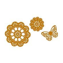 Eastshape Circle Frame Die Butterfly Metal Cutting Dies Tool Craft New 2019 Scrapbooking for Card Making Album Paper DIY