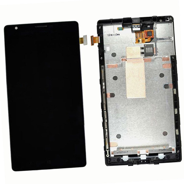 ФОТО LCD Display Touch Screen Digitizer Assembly with Frame for Nokia Lumia 1520