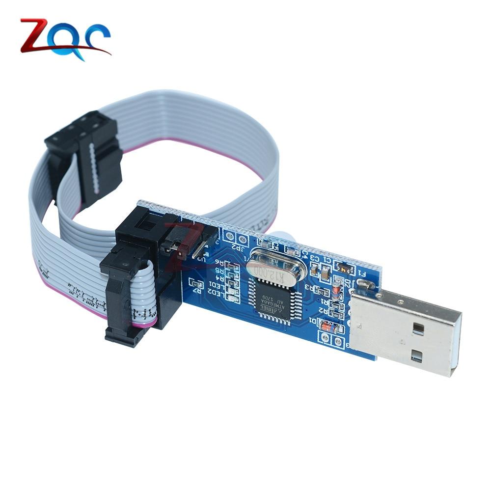USBASP USBISP AVR Programmer USB ISP USB ASP ATMEGA8 ATMEGA128 Support Win7 64K for Arduino