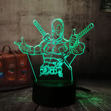 Deadpool Change Desk Lamp 3D #1