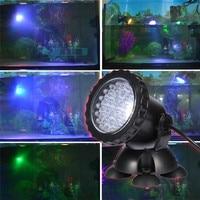 1Pcs IP68 3W Aquarium Light Underwater Aquarium Lamp with Remote Control Aquarium LED Lighting