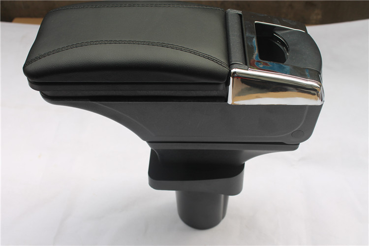 High quality!Storage Box Armrest Center Console For Chevrolet Aveo 2011-2014  Only fit for Low-equiped model!! high quality black storage box armrest center console for ford focus 2012 2014 only fit for low equiped model