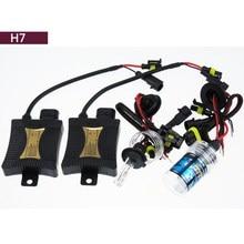 55W H7 HID Xenon Headlight Conversion KIT Bulbs Ballast 12V Autos Car lights Lamp Automoveis 4300K 5000K 3000K 10000K free ship