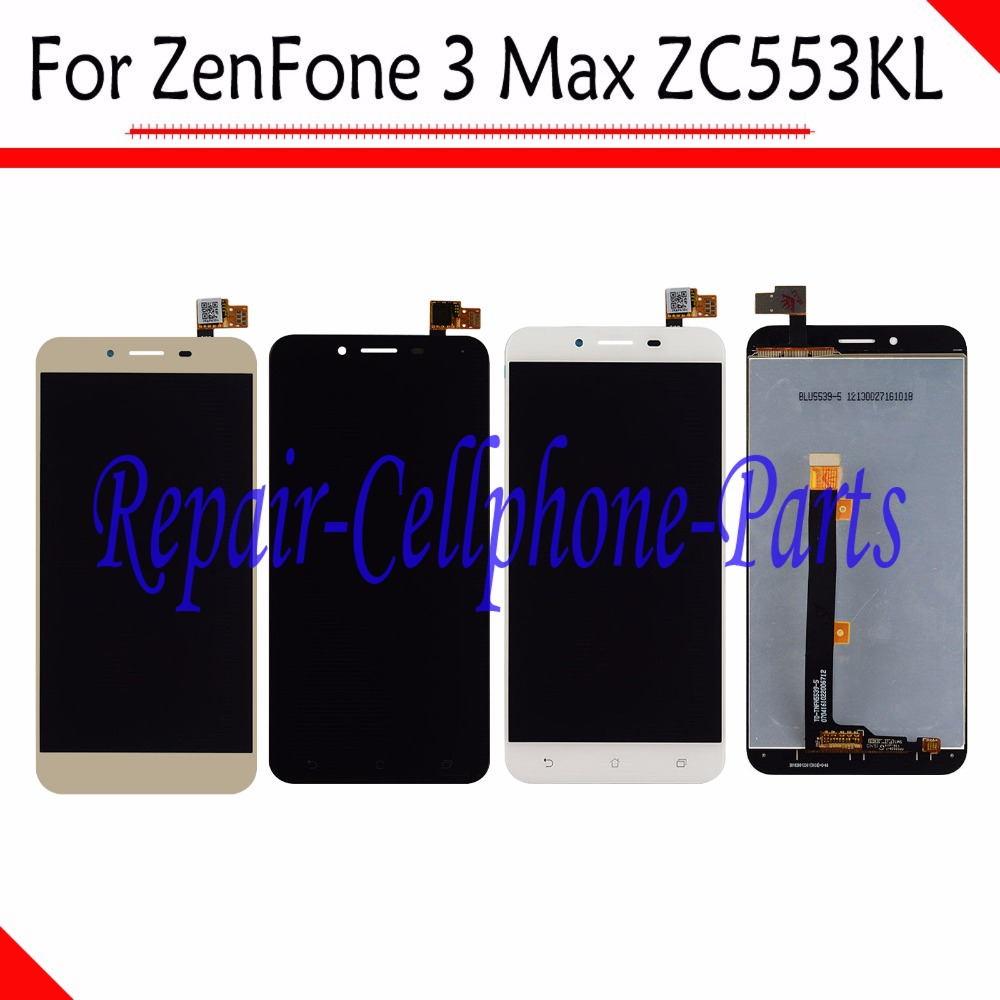 New Full LCD <font><b>display</b></font> + Touch screen digitizer assembly Replacement parts For Asus ZenFone 3 Max 5.5 <font><b>ZC553KL</b></font> X00DD X00DDA X00DDB image