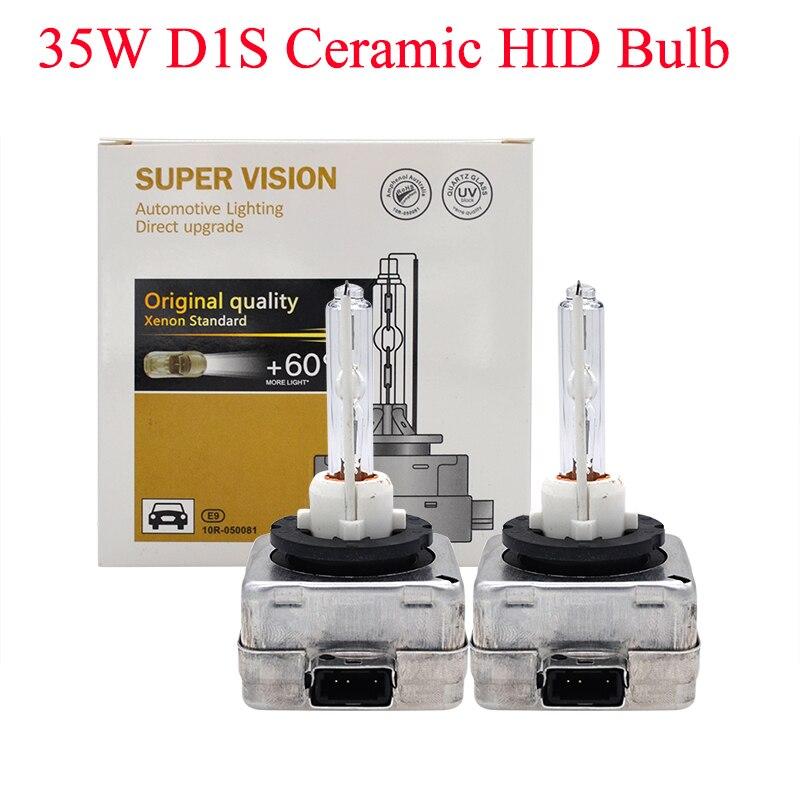 SKYJOYCE 12V 35W D1S HID Xenon Bulb D1S Ceramic 3000K 4300K 5000K D1S 6000K 8000K 10000K HID Xenon D1S Auto Car Headlight Bulb (3)