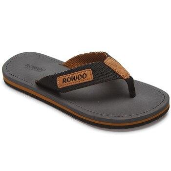 Casual Slippers Men Shoes Summer Flipflops Shoes Beach Sandals Male Soft Slipper Flip-flops EVA Sandals Summer Men Flip flops 1