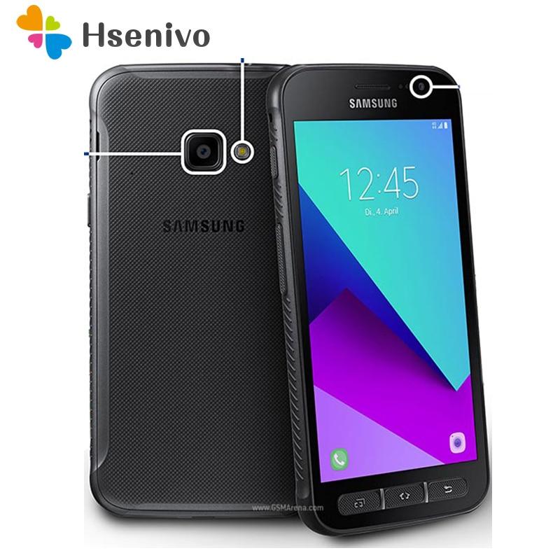Фото. Оригинальный разблокированный samsung Galaxy Xcover 4 G390F четырехъядерный 5,0 дюймов 2 Гб ОЗУ 16 Г