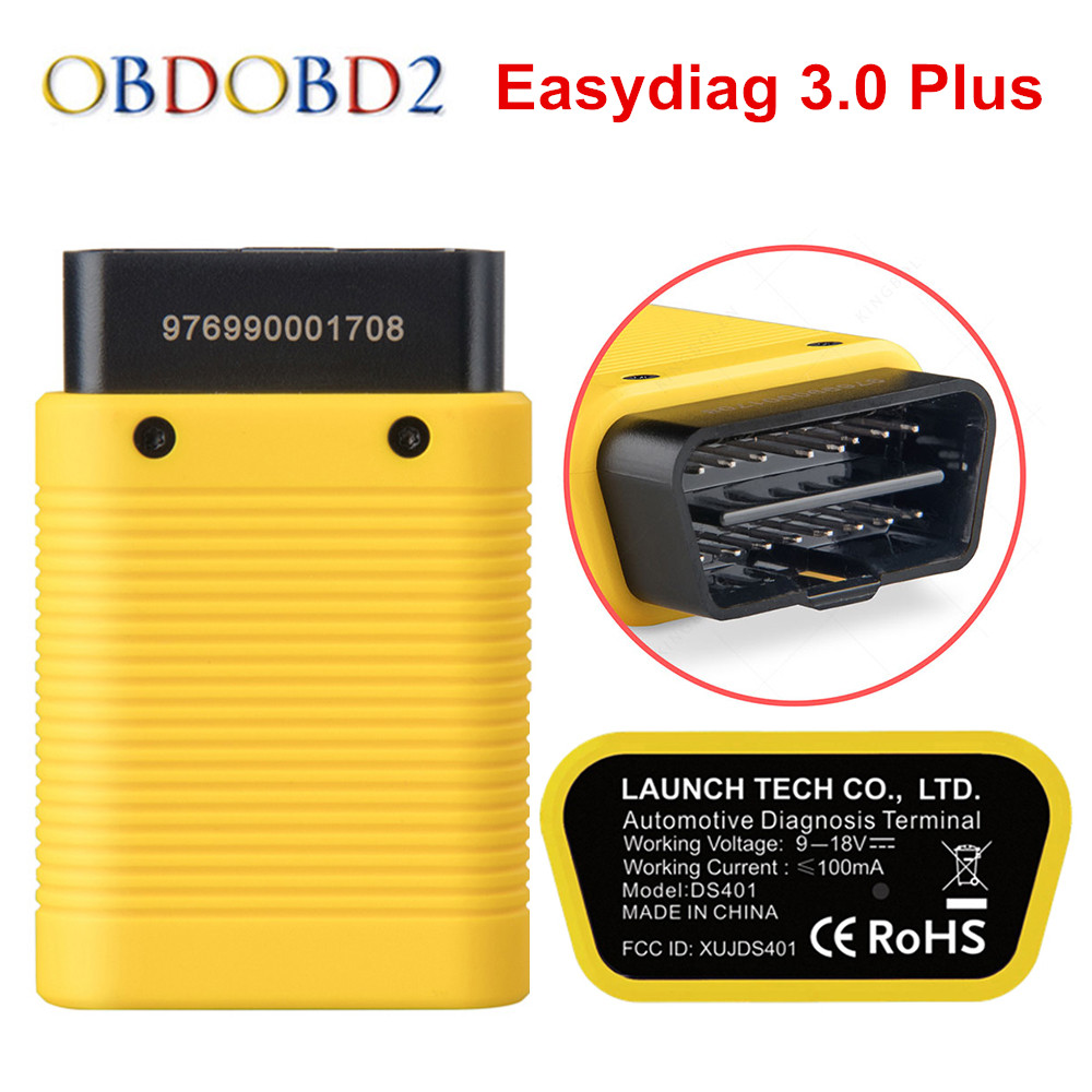 LAUNCH X431 EasyDiag 3.0 Bluetooth EOBD/OBDII Code Reader Easydiag 3.0 Plus Support Android Updated Of Easy Diag 2.0 Free Ship free shipping launch m diag lite for android ios with built in bluetooth obdii mdiag m diag lite better than x431 idiag easydiag