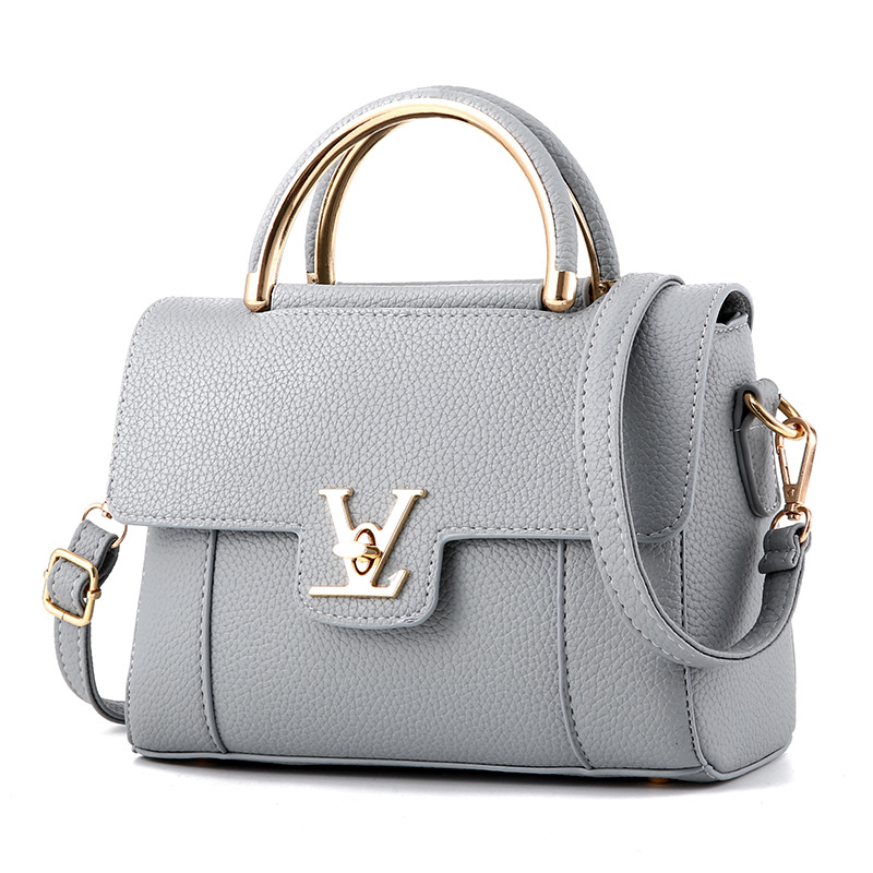 2018 Hot Flap V Women's Luxury Leather Clutch Bag Ladies Handbags Brand Women Messenger Bags Sac A Main Femme Famous Tote BagC97(China)