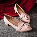 Большой размер 40 ~ 43 / малый размер 31 ~ 34 2016 весной мода ботинки повелительниц женщин на высоких каблуках офис искусственная кожа платформы женщин туфли на высоком каблуке