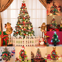 60CM Artificial Christmas Tree New Year Decorations LED Multicolor Lights Navidad For Portland Fighters