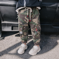 Fashion New Children's Camouflage Pants Baby Boys Casual Pants Kids Boy Sport Trousers Big Boy Camouflage Cargo Pants Spring New