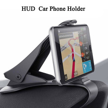 Cong fee Adjustable Car Phone Mount Holder Clip HUD Design t For iPhone 8 7 Plus 6 Galaxy S8 Stand Bracket