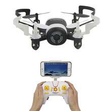 JXD 512DW RC Helicopter 2.4Ghz 6-Axis Gyro FPV Drone Altitude Hold Portable Aircraft 3D Flip Wireless Multirotors UFO Quadcopter