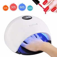 48W LED/UV Lamps For Nails 33 PCS LEDs All Gels Curable With 10/30/60/120S Button Professional Nail Dryer Manicure Nail Art Tool