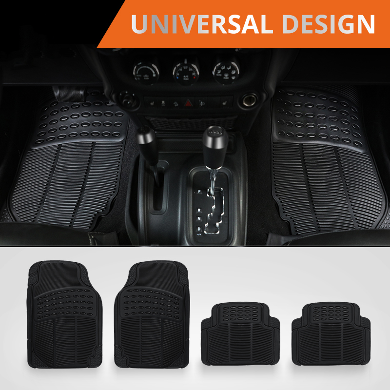 Auxmart Car Mats Floor Carpet Universal Auto Sedans SUVs Vans Floot Mat for Honda Toyota Kamaz Kia Seat Hyundai Car Floor Mats bear claw floor mats for kia amanti