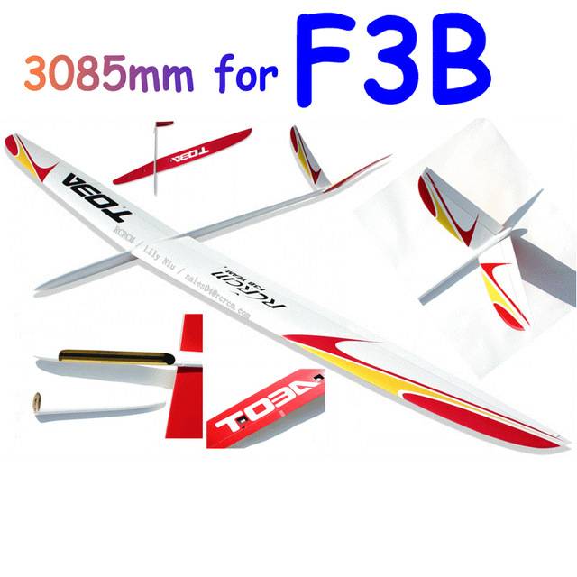 4ch Toba  F3b carbon airplane remote control Free Shipping