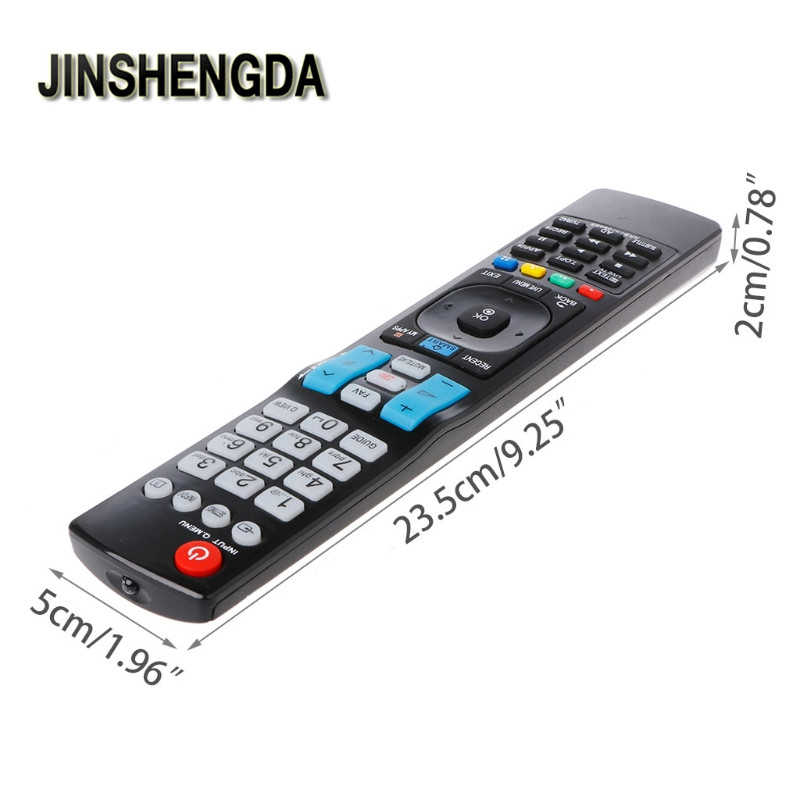 JINSHENGDA Universal Television Remote Control Replacement For LG AKB73756565 3D TV