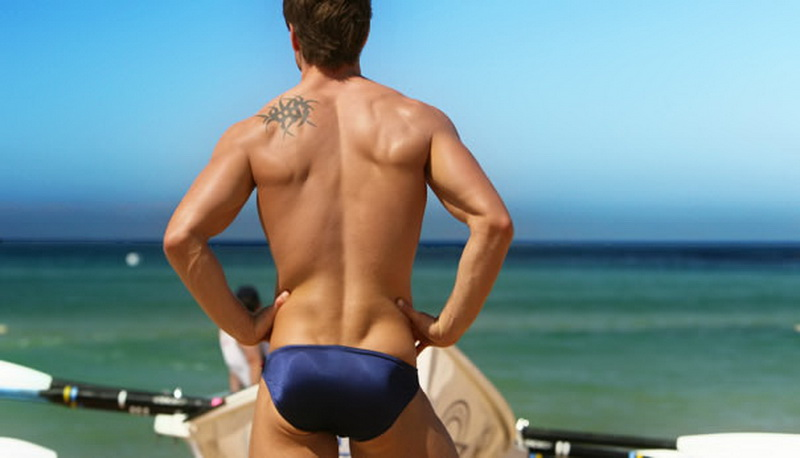 Topdudes.com - Hot Men's Sexy Swim Briefs Summer Swimwear