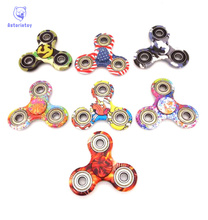 new 9 style colour    -Spinner Fidget Toy Plastic EDC Hand Spinner For Autism  Reliever Spiral Gifts Toys For Child