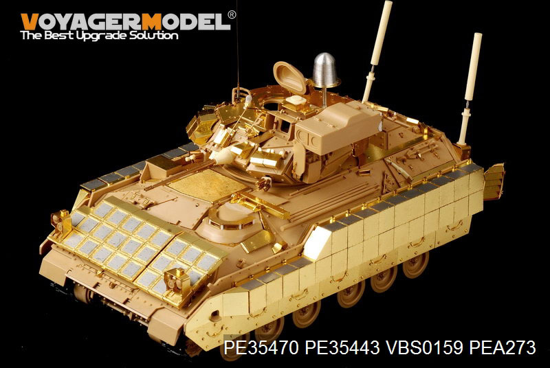 Voyager model PE35470 1/35 Modern US M2A2 Infantry Fighting Vehicle w/ERA Basic 4 4 electric violin solid wood 6 18 silvery dark blue color 4 string