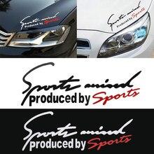 Спортивные буквы эмблема-наклейка на автомобиль значок наклейка авто автомобильный капот наклейка автомобиля-Стайлинг для Audi BMW Mercedes Benz