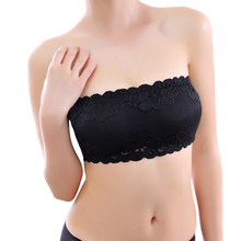Женщи tops сиськи верх tube культур бандо bralette бретелек горячий сексуальная