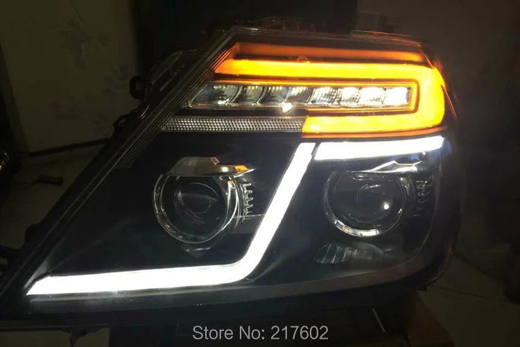 For Nissan Patrol Infiniti Qx56 Led Head Lamps 2014 V2 With Led