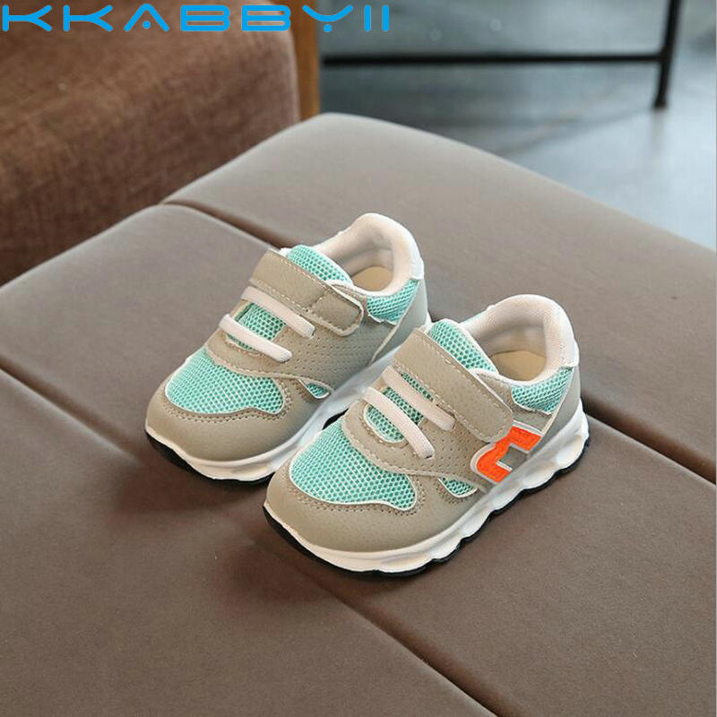 2018 New fashion Cool fashion breathable children sneakers hot sales casual cool baby kids shoes sports boys girls shoes