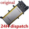 """7.5 V 37WH bateria Original para X555 X555LA X555LD X555LN A555L 15.6 """"C21N1347 2ICP4/63/134 Substituição baterias"""
