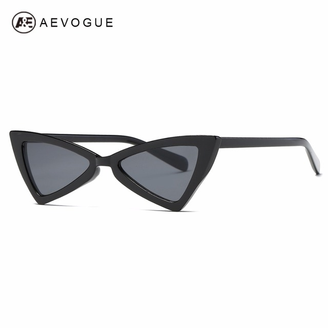 305cc53609 AEVOGUE Hot Tip Pointed Cat Eye Sunglasses Women Inspired Sexy Mod Chic  Fashion sun glasses AE0571