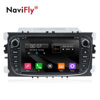 Navifly Free shipping Car GPS navigation For FORD Focus2 focus 2008 2009 2010 2011 S MAX Mondeo with multimedia radio player BT