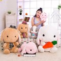 New Cute 1PC Soft Rabbit long ear bunny  Soft adorable rabbit Japanese Amuse Lop plush toy doll Kids Girl Best birthday Gift