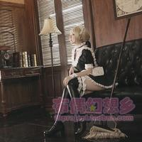 2016 Custom Made Black And White Saber Maid Cosplay Costume From Fate Stay Night Cosplay Costumes