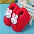 Newborn Handmade Malha Crochet Da Criança Recém-nascidos Sapatos Botas Infantis Bebê Bonito momo mocassins bebê crochet do bebê cesta de 10 cm