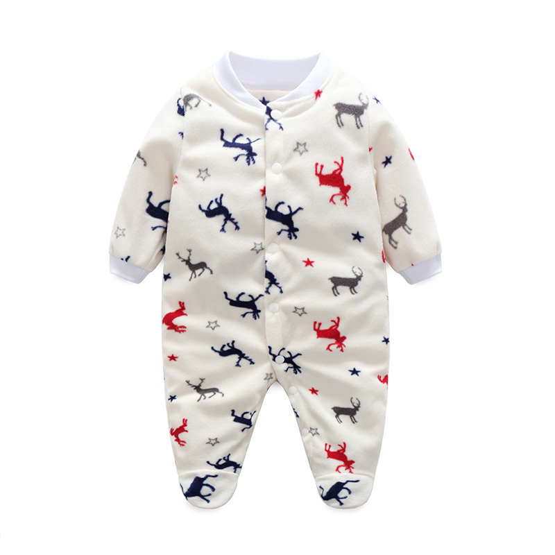 Uni Baby Clothes Baby Boy Girl Footed Rompers Infant