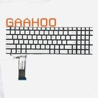 Original US Backlight keyboard forASUS G771 G771JW GL771JM GL771JW N551J N551JK N551JM N551JQ N551ZU N551Z G551JK G551J SLIVER