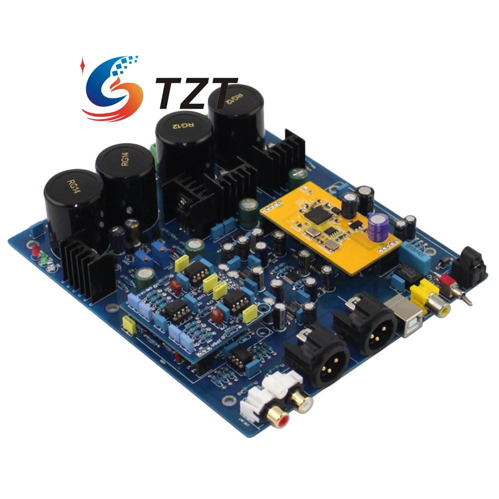 все цены на DSD1796 NE5532 Double Chip DAC Decoder Board with XMOS U8 Sub Card for Audio DIY онлайн